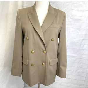Brooks Brothers Women's Sz 8 Jacket Blazer Brown